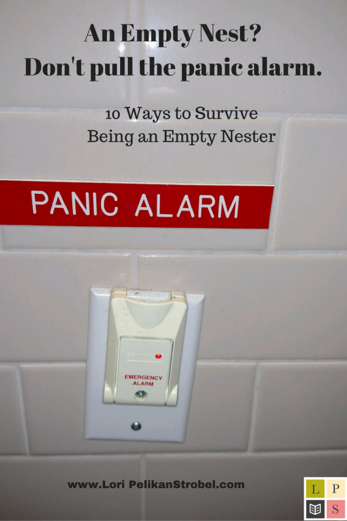 An Empty Nest?Don't pull the panic alarm.