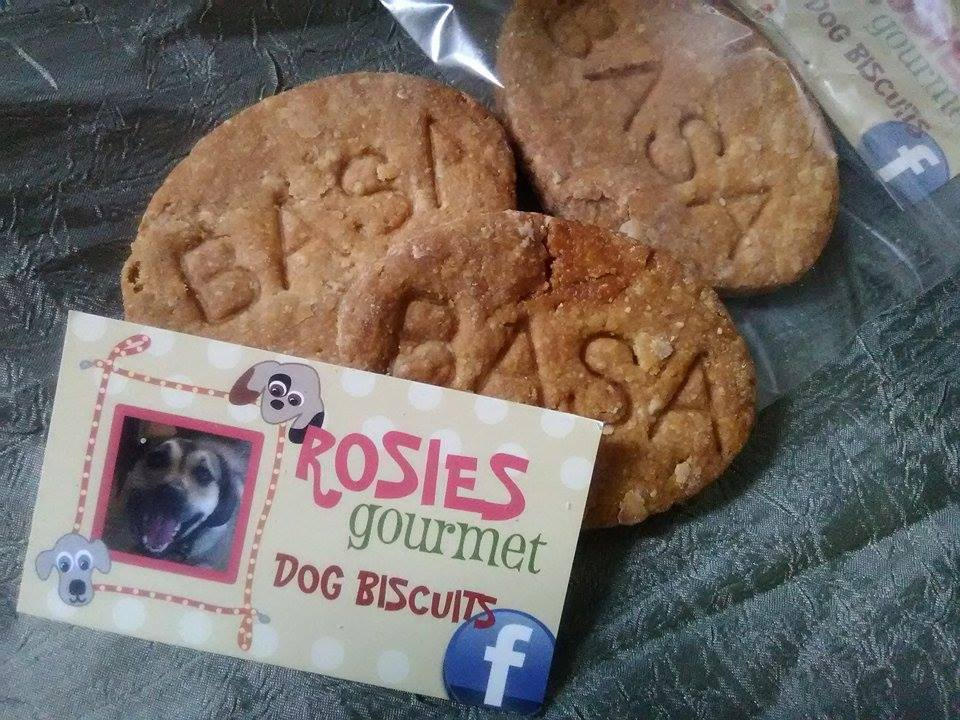 Rosie's Gourmet Dog Biscuits