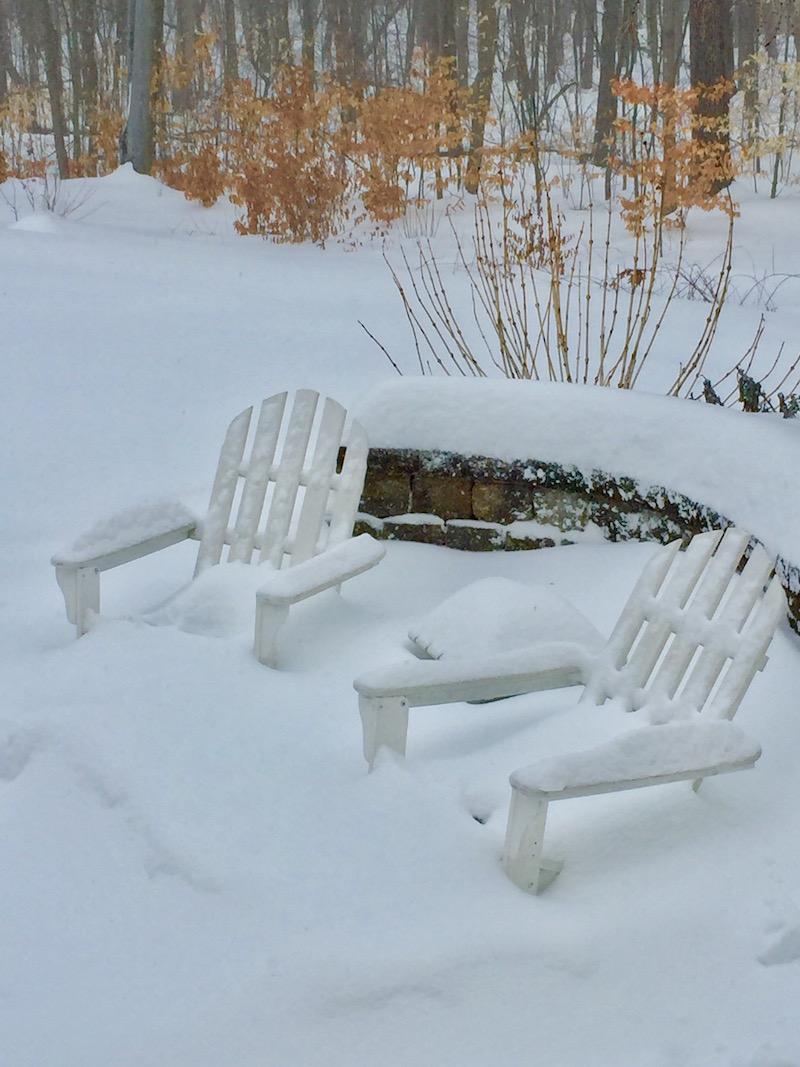 Snow Pile by Misuzu Kaneko